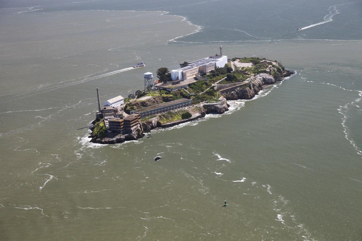 CA - Alcatraz Island. (Northern Sky Entertainment/Crispin Sadler)