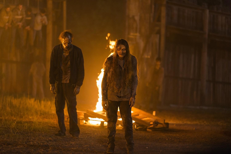 Walkers- The Walking Dead _ Season 7, Episode 5 - Photo Credit: Gene Page/AMC